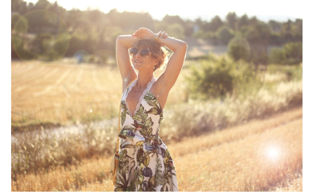 robe imprimé Jungle sur-mesure